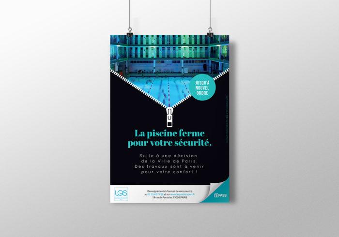 Réalisation poster Paris 75