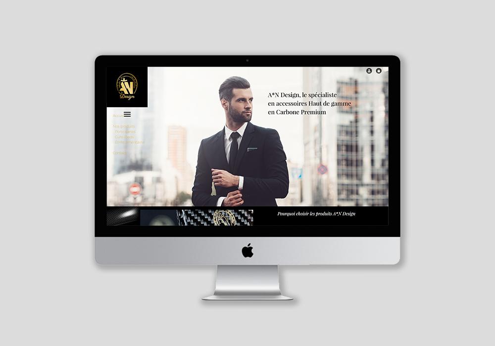 Réalisation d'un site vitrine et webdesign