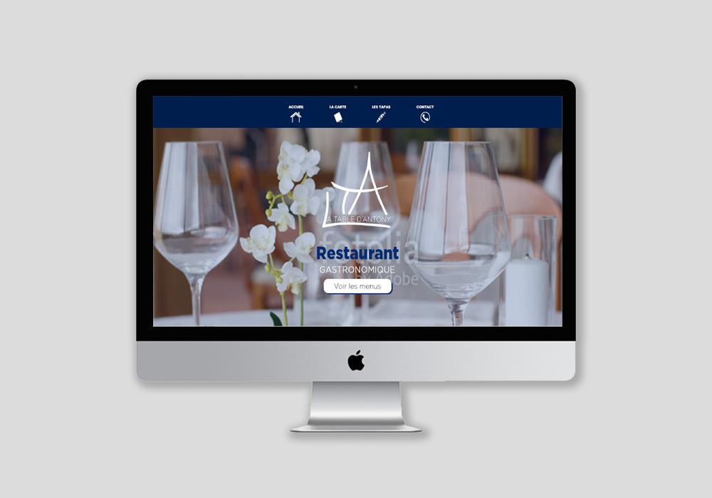 Fabrication d'un site internet et webdesign