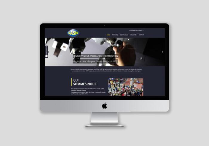 Achèvement d'un site internet et webdesign
